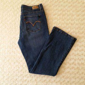 Levi's 515 Boot Cut Women's High Rise Jeans 10